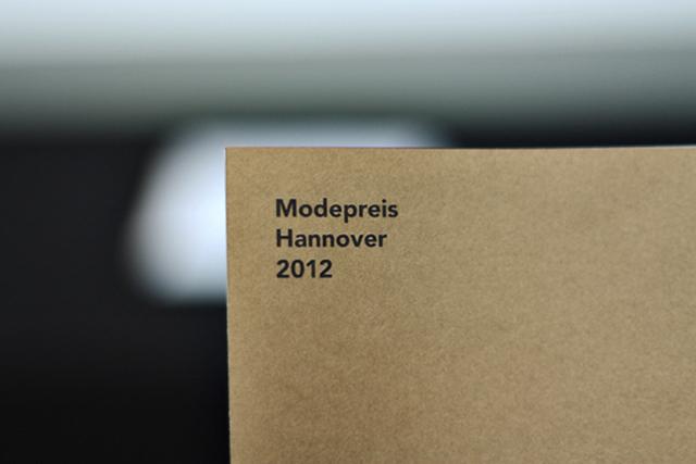 MODEPREIS HANNOVER 2012