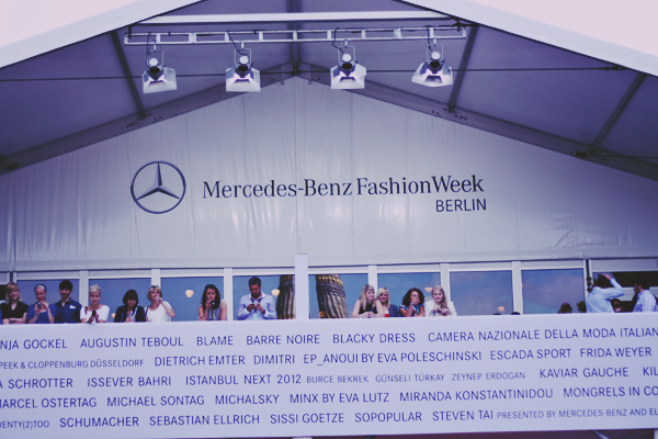Mercedes-Benz Fashion Week Berlin I: Lena Hoschek