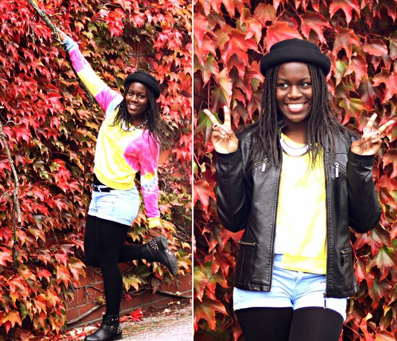 autumn in my veins.